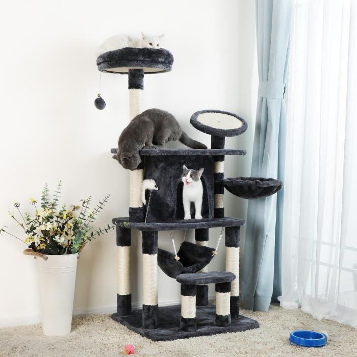 ne d pensez pas trop pour l 39 habitat de votre f lin paradis des chats. Black Bedroom Furniture Sets. Home Design Ideas